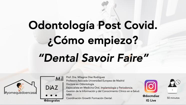 Odontología Post Covid-19